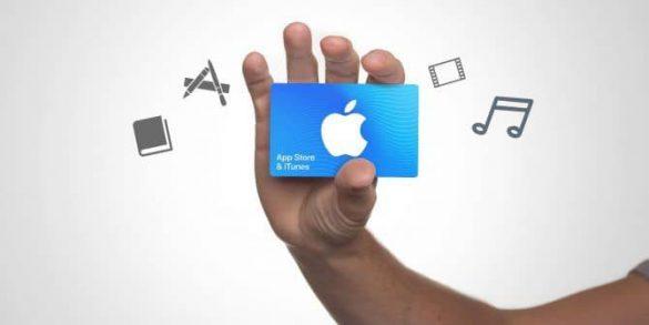 آموزش فعال سازی و استفاده از گیفت کارت اپل آیتونز