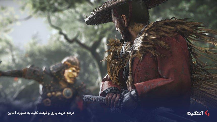 شمشیر کاتانا در بازی گوست اف سوشیما