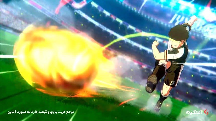 گیم پلی بازی Captain Tsubasa