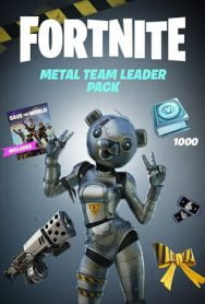خرید دی ال سی Fortnite – Metal Team Leader