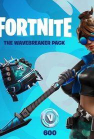 خرید دی ال سی  Fortnite – The Wavebreaker + 600 V-Bucks