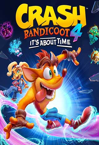 خرید بازی Crash Bandicoot 4: It's About Time