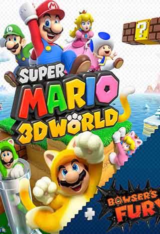 خرید بازی Super Mario 3D World + Bowser's Fury