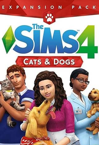 خرید دی ال سی Cats & Dogs بازی Sims 4