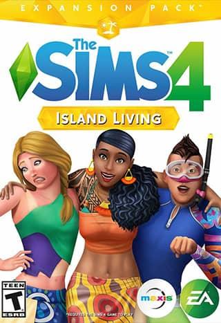 خرید دی ال سی Island Living بازی  The Sims 4
